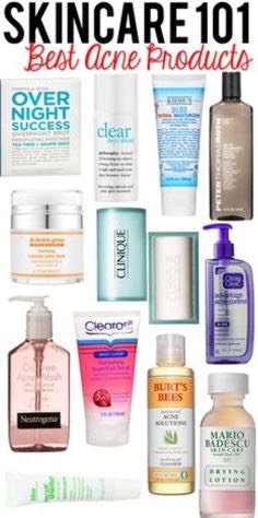 6. Always use facial cleansers, face scrubs, moisturizers, etc. at night so you're always glowing and looking your best