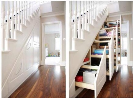 Stairs Storage  More stairs storage! It's just so clever and useful. I love it