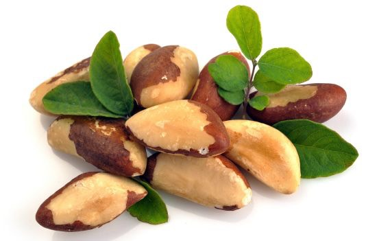 BRAZIL NUTS Eating two Brazil nuts, which contain selenium will soothe you. Selenium reduces anxiety by balancing the minerals found in our body.  SO GO NUTS 😜