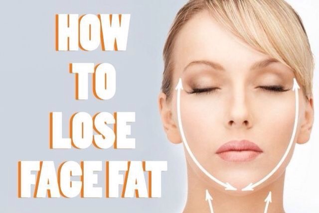 how to lose face fat reddit