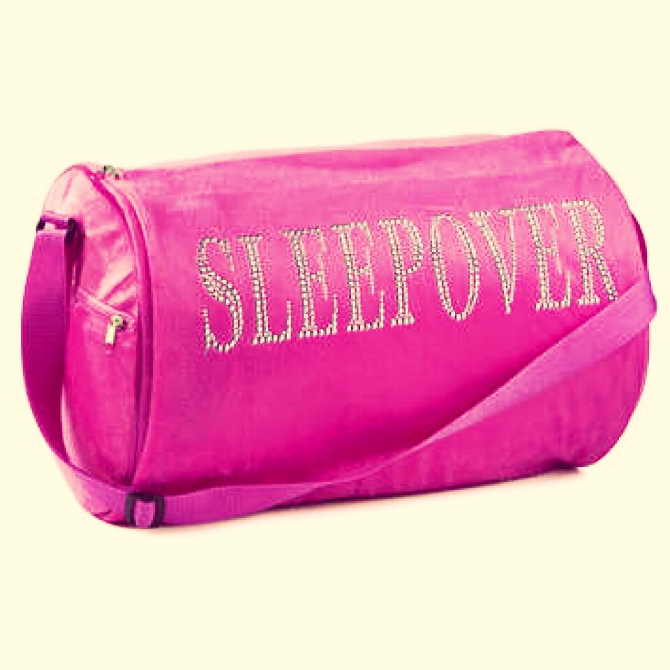 Don't want to carry another bag for your clothes when going for a sleepover!  Here's a quick tip