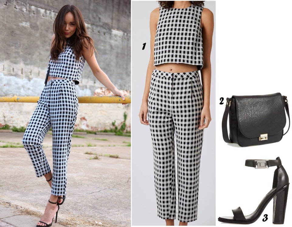 119c580de1 Gingham The Hot New Look For 2015 by Dannii Randall - Musely