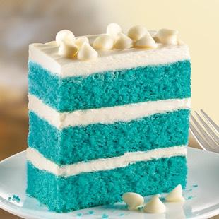 Blue velvet white chocolate chip