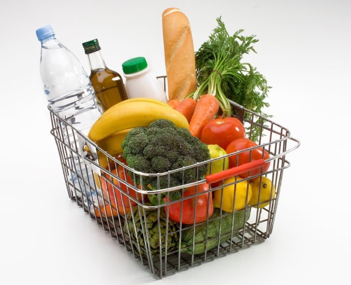Go grocery shopping on Sunday's therefore you have everything to make your meals.