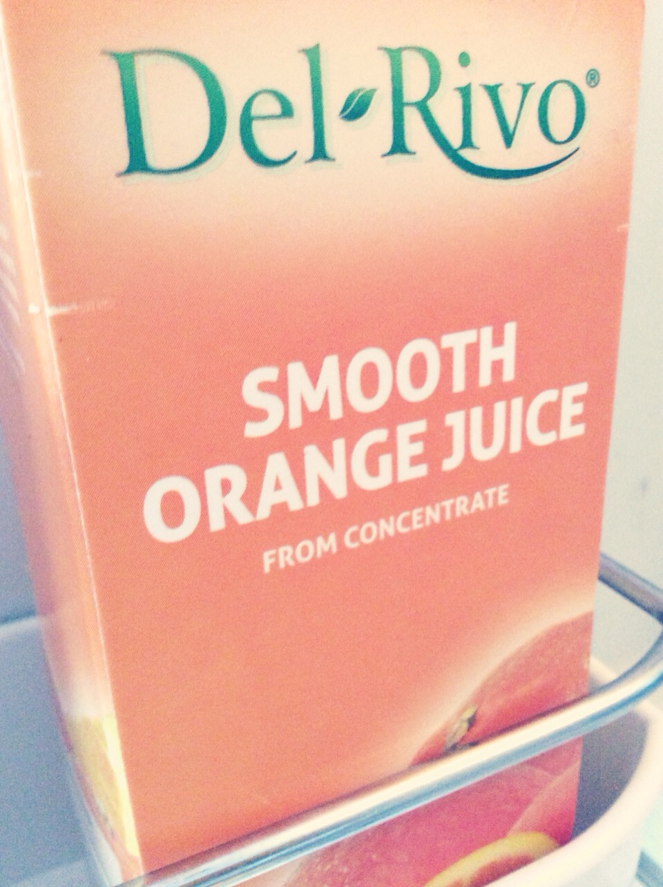 Add 1/3 of a cup of orange juice Add 1/2 cup of sugar/salt depending on ur preference.