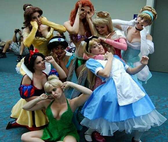 Disney characters like Tinkerbell/Cinderella/jasmine/snow white/bell/ Ariel/Aurora/Alice.