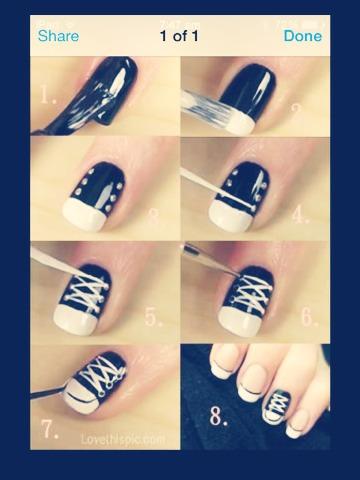 Cool shoe nails 👟💅