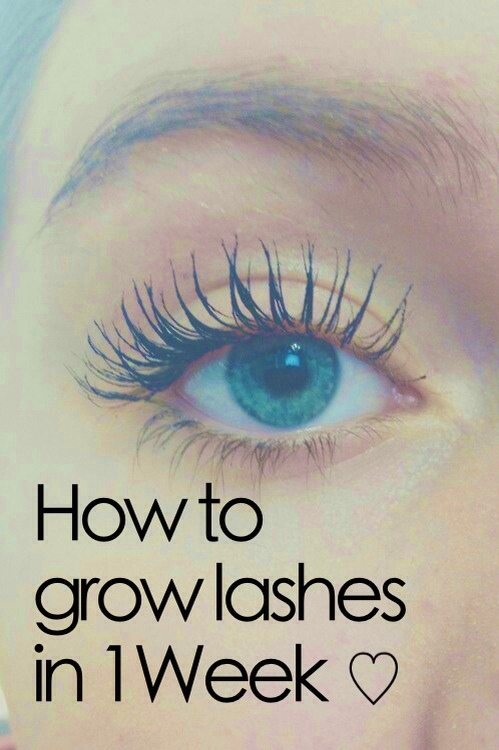 How to grow lashes in a week!💓 Don't forget to like,comment,share,& save💖 Thanks