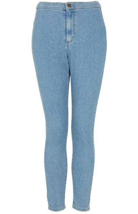 Highwaisted jeans are great addition to your wardrobe! They make you feel slim because they hold everything in!