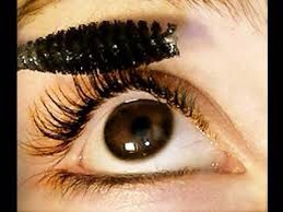 You can even do the bottom set of lashes the same way if you wish. Get your eyelash curler and place the lashes between the two plates and squeeze, hold for a few seconds.