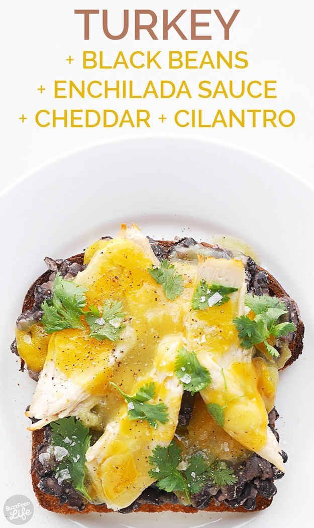 --> Enchilada Toast
