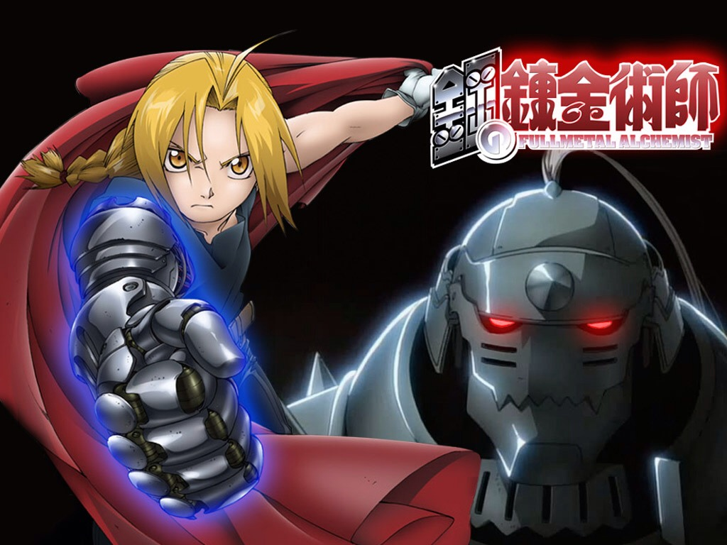 Fullmetal Alchemist Brotherhood. I just started watching this and I like how adventure packed it is. There's heaps of fighting but it's also interesting and I like the characters a lot. English dubbed available