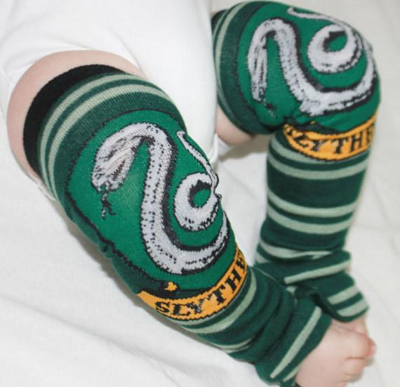 2. You're going to need these Slytherin leg warmers too.  $15