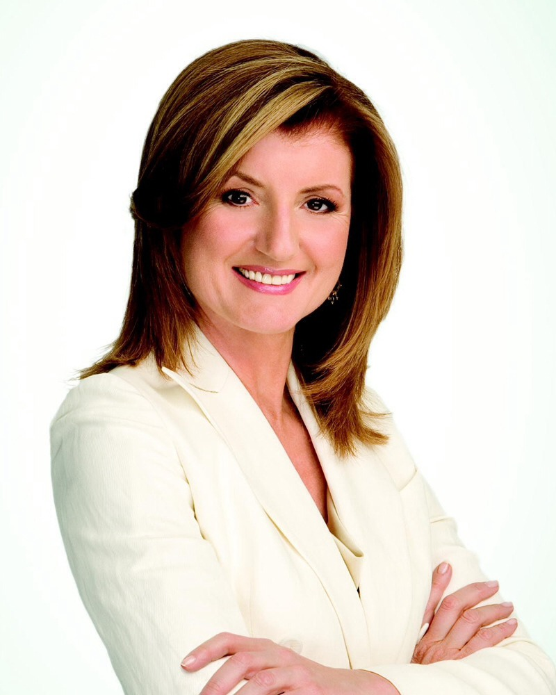 Arianna huffington: only reads actual books before bed; no kindle, laptops, iPads etc.
