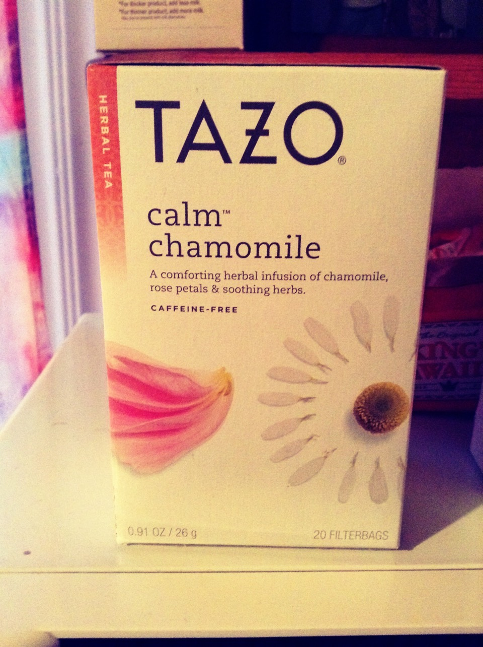 More Tazo ;) This stuff will knock you out! It's light but sweet, very good hot, with a spoonful of sugar.
