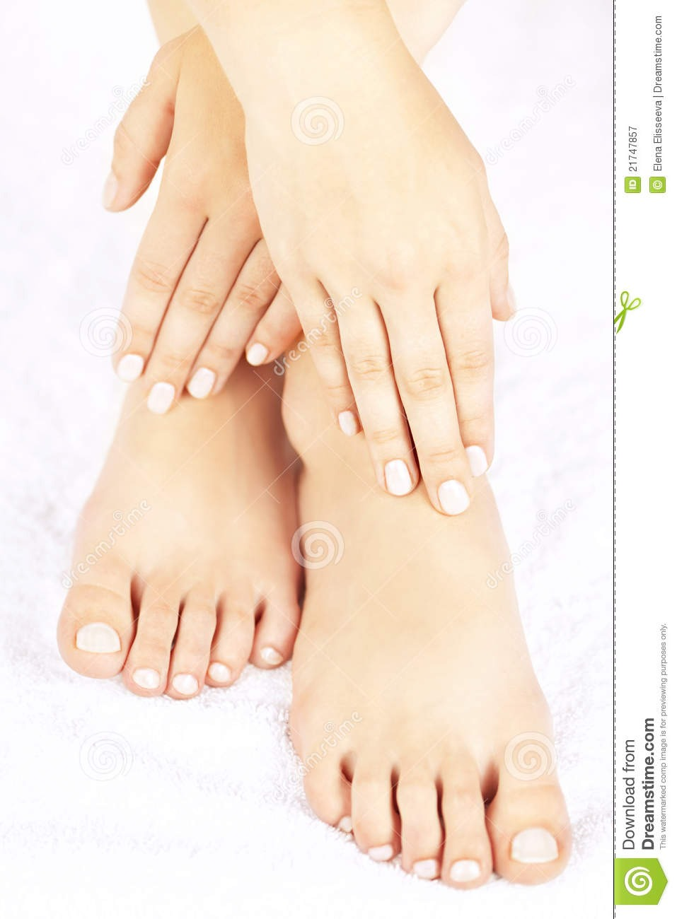 Feet: rub coconut oil or Vaseline on them and cover with socks. Your feet will be so soft!