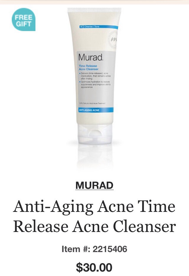 This face wash is a little pricey at $30 per bottle but a little goes a long way. I use a pea sized amount per wash. This formulation blasts acne away and leaves skin super clean. TIP: due to the super cleaning affect, Don't forget to apply an oil free moisturizer after using this product.