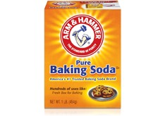 All you need is baking soda,