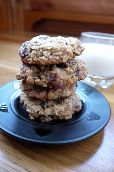These cookies are the perfect mixture of chewy and crunchy.