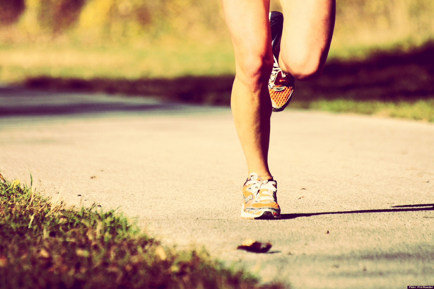 Keep on running!! Make sure you drink water