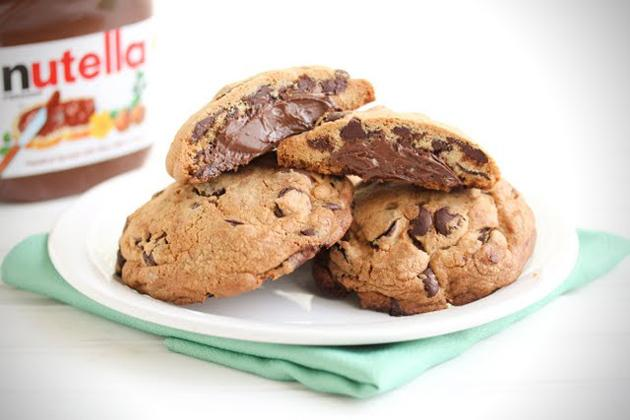 Chunky Nutella chips!
