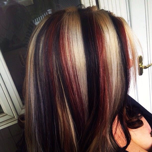 The Next Hair Trend Split Color Hair Dye By Sara Roulston