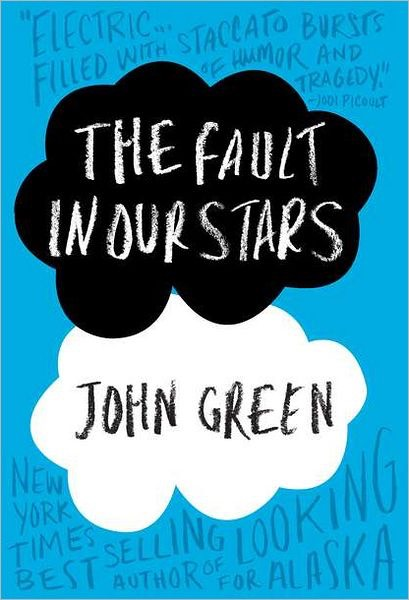 #1) The Fault in Our Stars by John Green  A #1 top seller. This book reveals a battle against cancer. Two teenagers, Hazel and Augustus, fight together against two different kinds of cancer. As they try to stay alive, they fall in love unfolding another battle of romance.