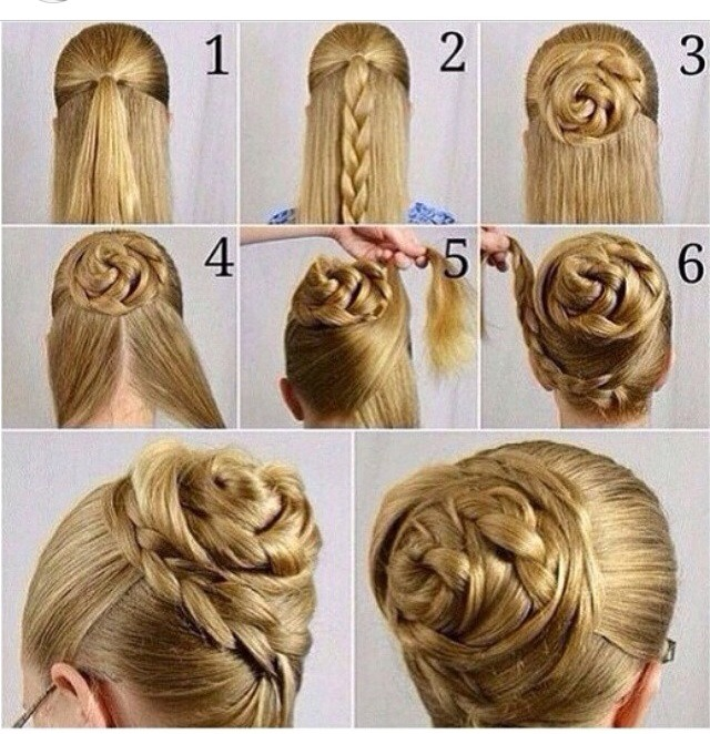 hair styles in a bun hairstyles musely 4006