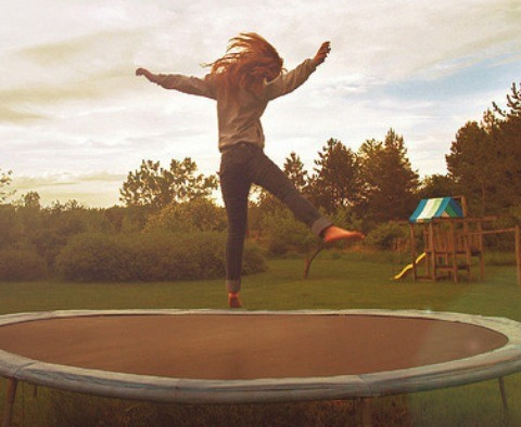 Bouncing On A Trampoline 400 calories per hour