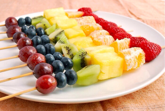 Fresh Fruit  While you don't want to eat a meal within two hours of competition, a snack for energy is a great idea and fresh fruit is always a healthy snack option that will provide quick energy.