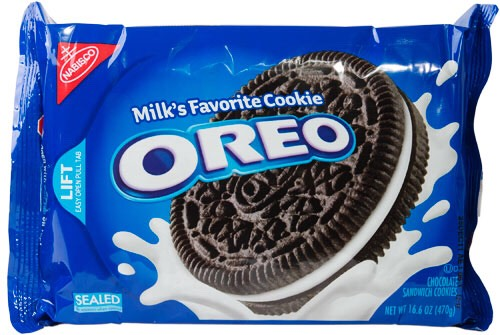 One pack of oreos