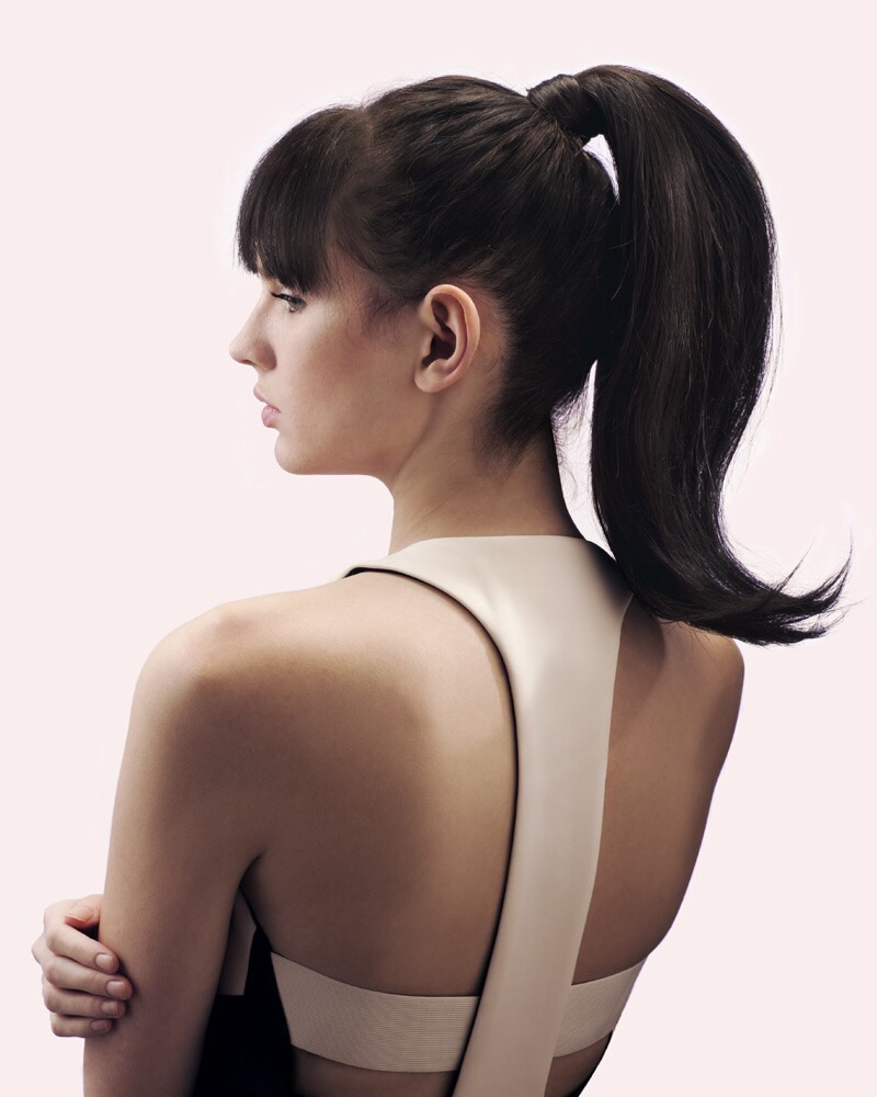 Make sure when you put your hair up, that it Isn't too tight, and use fabric elastics that don't hurt your hair.