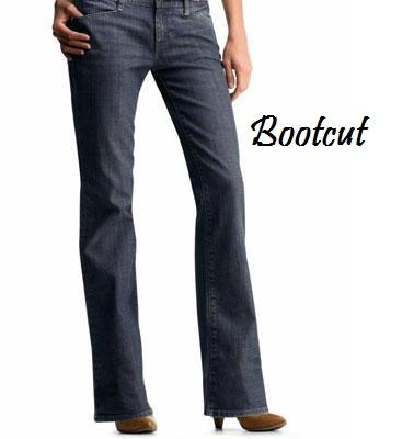boot cut and flared-from-the knnees style enchance all figure.....
