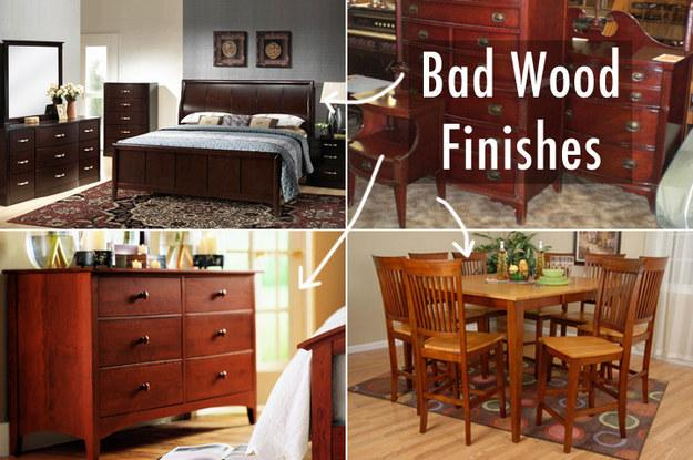 3. Avoid these unappealing wood colors.