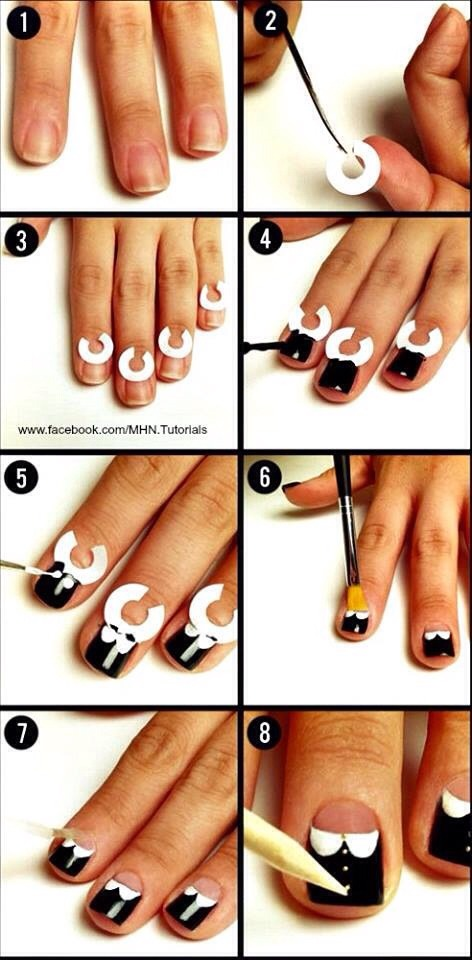 Cute Creative Nail Art 💅💅💅 Fashionistas if you Like It Please Give It a 👍 ! Thanks Very Much😊