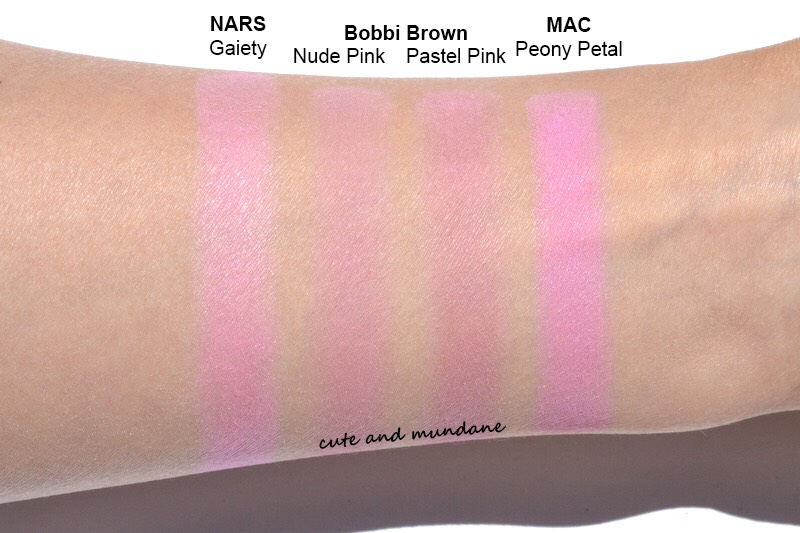 11) Blue blush is not something I would recommend, but there are tons of rose quartz type light pink blushes that would just add the perfect amount of color to your cheeks!