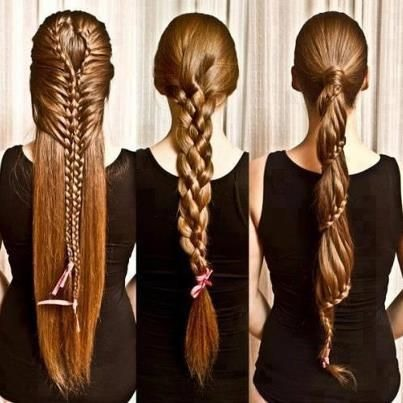 Pretty braids that I could probably never do
