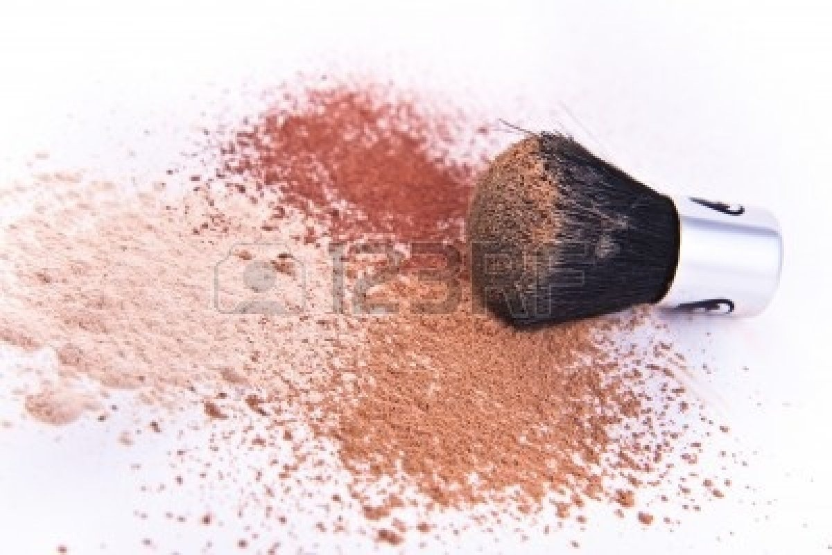 First start with a mineral-based powder or a foundation of your choice... It's important to use a blush bronzer or a powder Lighter and your skin tone to highlight your face