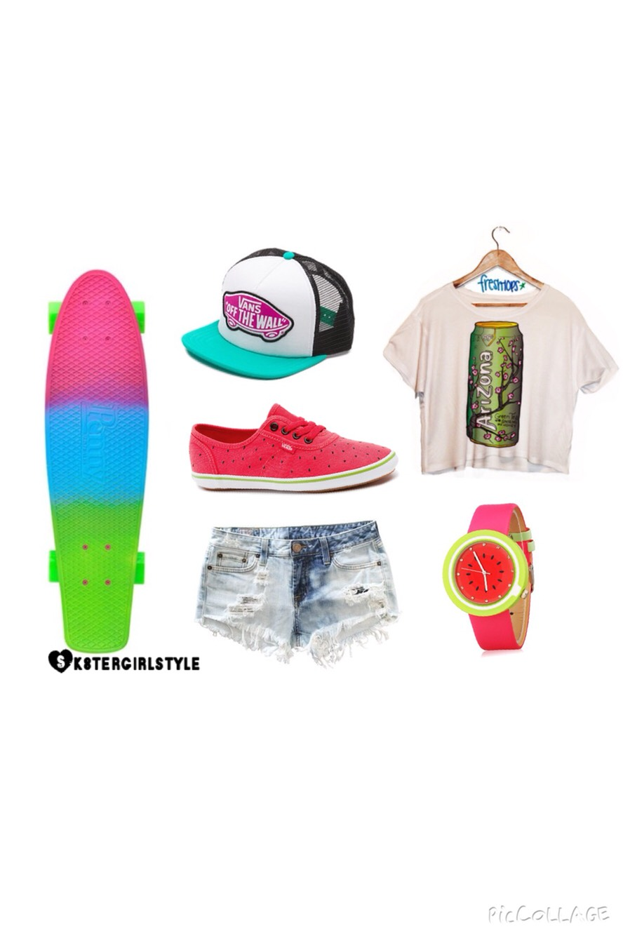 Check out my Insta for style ideas! @sk8tergirlstyle