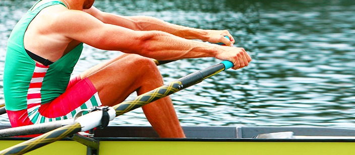 9. Rowing