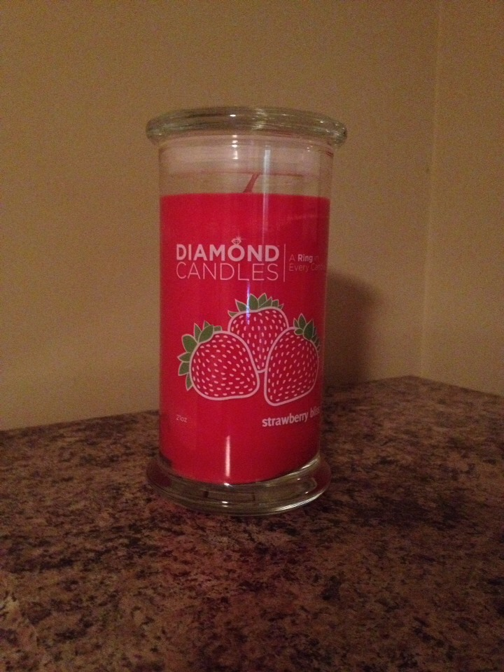 I love my candle it smells absolutely wonderful ladies !!! It's also fun waiting for your ring to surface !!!