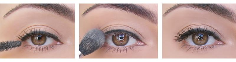 Aplly a line with black pencil on the lash curler you know not only curl your lashes but also have your eyes perfectly lined.