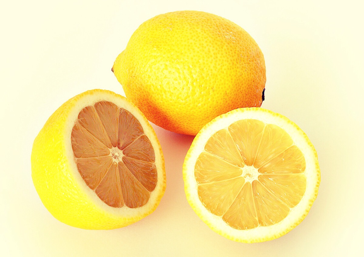 After washing your face, apply a small amount of lemon juice onto a cotton swab and wipe over your face.  You might feel some tingling.  Leave it on for only 10 minutes and then rinse off with cool or lukewarm water. You do not want to use hot water here.