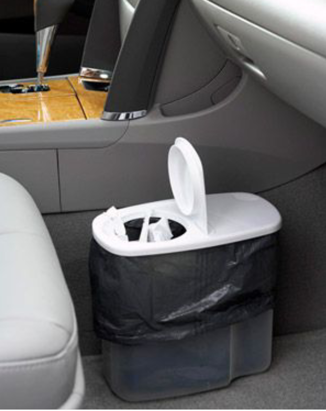 Cereal container or pitcher that can be used in vehicle to dispose trash items