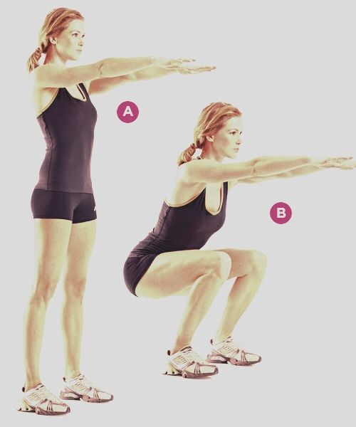 Do 20 squats a day.