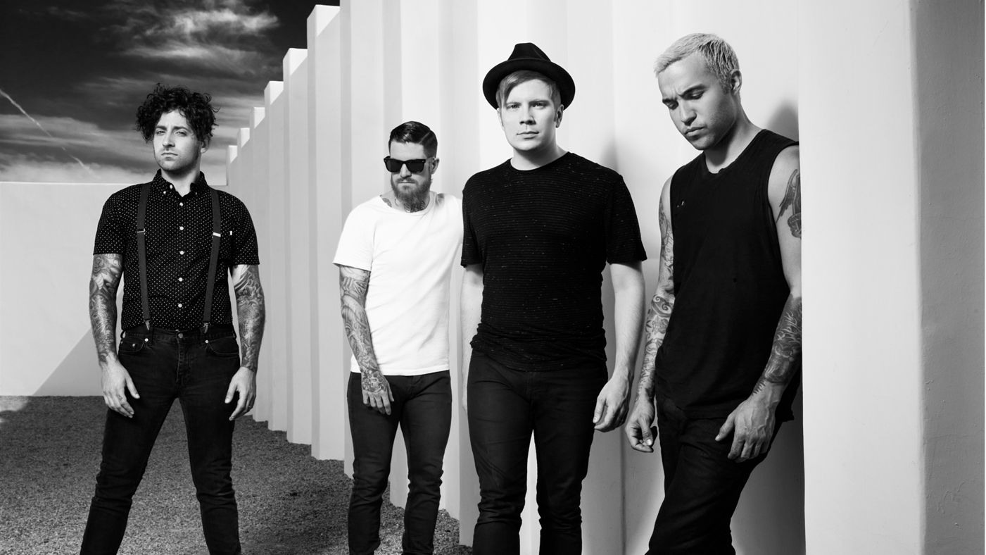 Fall Out Boy is an American Band. Patrick Stump, Pete Wentz, Andy Hurly and Joe Trohman.  Their newest albums are called Save Rock and Roll and And American Beauty/American Physcho.