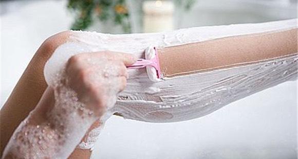 6. Shaving Cream Use instead of a shaving cream to get softer legs.