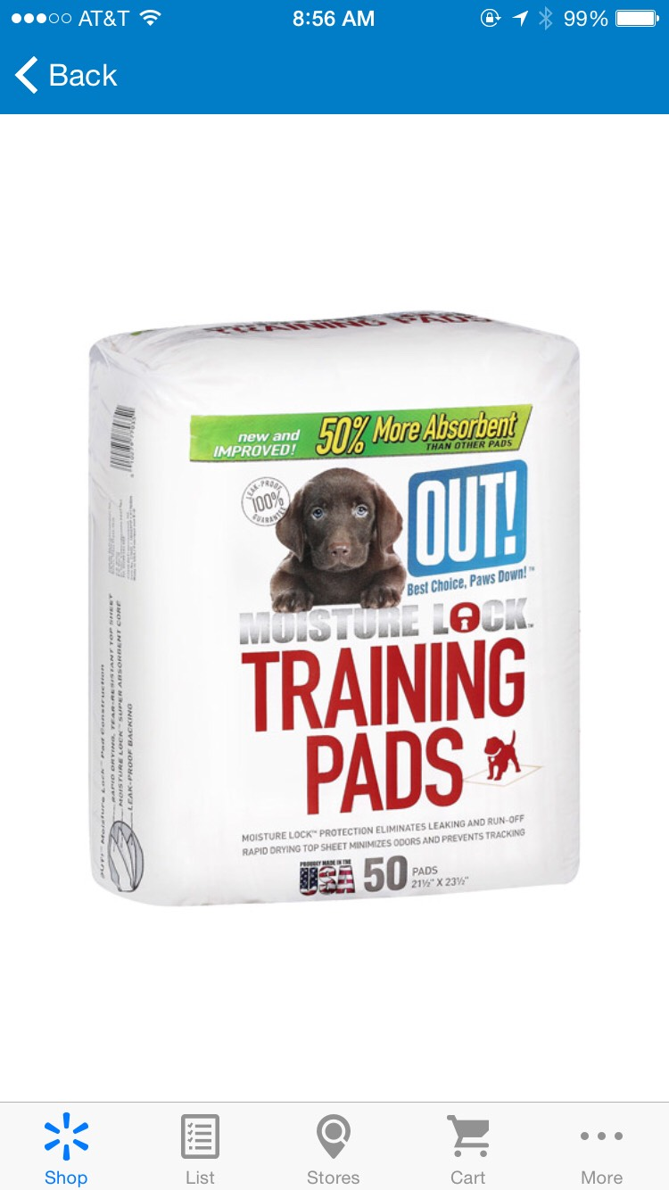 And instead of buying the bags for the porta-potty i use grocery bags and line it with these training pads, they are awesome: http://www.walmart.com/ip/OUT-Moisture-Lock-Training-Pads-50-ct-Dogs/15718175