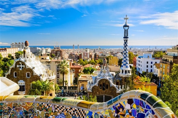 Renowned for its legendary fútbol team, Barcelona boasts much more than athletic talent. Touring the city is a feast for the eyes: Visitors walk past medieval architecture in the Barri Gòtic and Gaudi's innovative creations at Parc Güell and the Sagrada Familia.