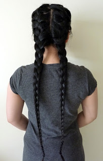 Braid both sides of your hair